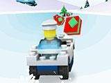 Лего арктический снегоход