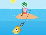 Свинка Пеппа рыбалка