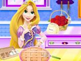 Рапунцель готовит яблочный пирог