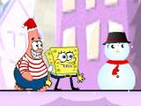 Губка Боб снежные приключения