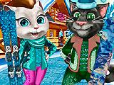 Том и Анжела: зимние каникулы