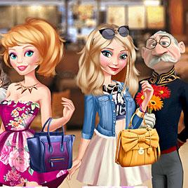 Эльза и Барби: слепые свидания