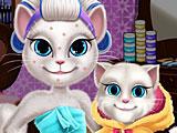 Макияж Анжелы кошки