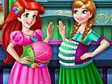 Ариэль и Анна беременные