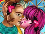Дракулаура и Клод поцелуи