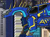 Робот Динобот Амаргазавр