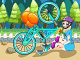 Холодное сердце: Эльза упала с велосипеда