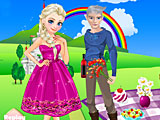 Холодное сердце: романтическое свидание Эльзы и Джека