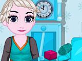 Холодное сердце: малышка Эльза убирает на кухне