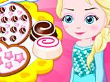 Холодное сердце: малышка Эльза готовит печенье