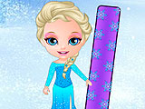 Холодное сердце: Эльза сноубордист
