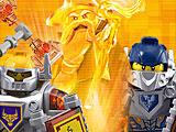 Лего нексо: крестики-нолики