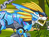 Собрать робота: Трансформер лев