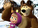 Маша и Медведь: скрытые предметы