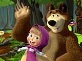 Маша и Медведь: лесное приключение