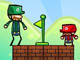 Марио и Луиджи на двоих