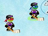 Черепашки ниндзя хоккей