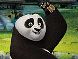Панда защитник деревни