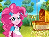 Беременная Пинки Пай рожает