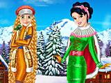 Рапунцель и Белоснежка: зимние каникулы