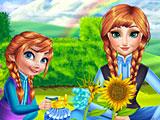 Холодное сердце: Анна и дочь садовники