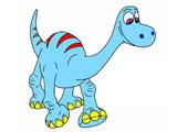 Раскраска хороший динозавр: Арло