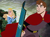 Спящая красавица: побег Авроры из замка