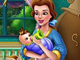 Красавица и Чудовище: Белль кормит малыша