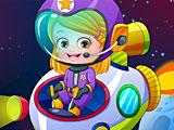 Малышка Хейзел пилот космонавт