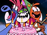 С приветом по планетам: День рождения