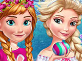 Холодное сердце: Пасха Эльзы и Анны