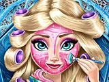 Холодное сердце на планшет: макияж Эльзы