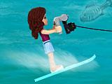 Лего Френдс: гонки на лодках