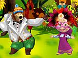 Одевалки Маша и Медведь: карнавал
