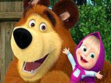 Маша и Медведь новые игры