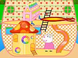 Свинка Пеппа кукольный домик