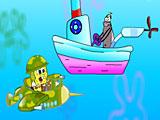 Губка Боб: полет над морем