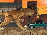Динозавр в Лос Анджелесе