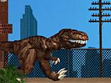 Динозавр в Нью Йорке