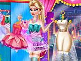 Одевалки холодное сердце: фея Эльза
