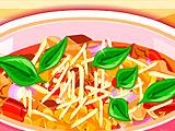 Суп лазанья
