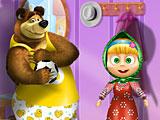Маша и Медведь одевалки