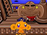 Счастливая обезьянка охота ниндзя 2
