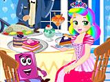 Принцесса Джульетта побег из ресторана