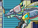 Собрать робота Стиракозавр