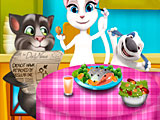 Том и Анжела: безделье на ужин