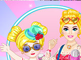 Барби и поп звезда дочь
