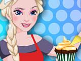 Холодное сердце: Эльза готовит тыквенный кекс
