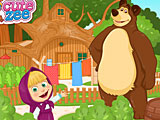 Маша и Медведь: летние развлечения