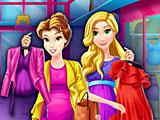 Беременные принцессы Диснея шоппинг